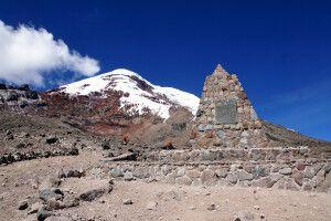 Auf dem Vulkan Chimborazo