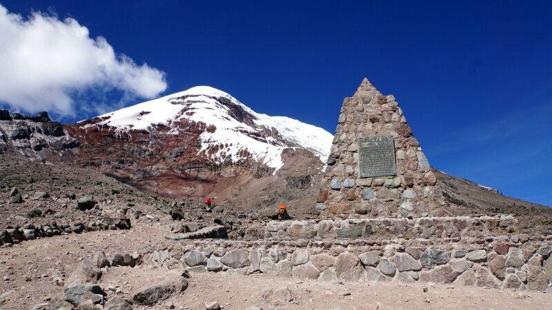 Auf dem Vulkan Chimborazo © Diamir