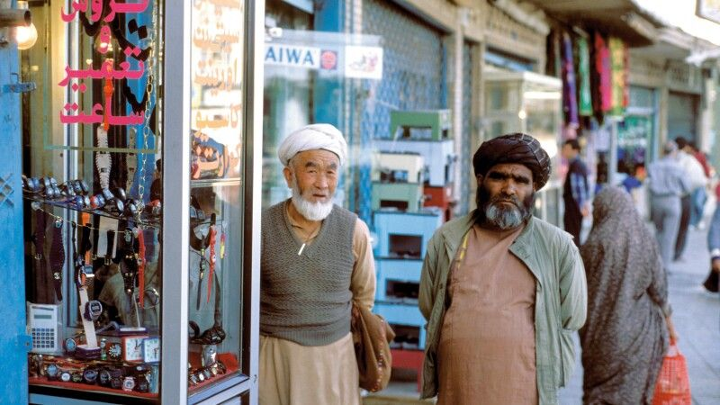 Verkäufer in Teheran © Diamir