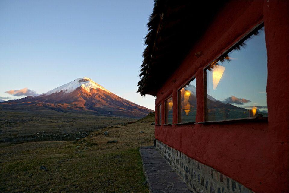 Weitblick auf den Vulkan Cotopaxi