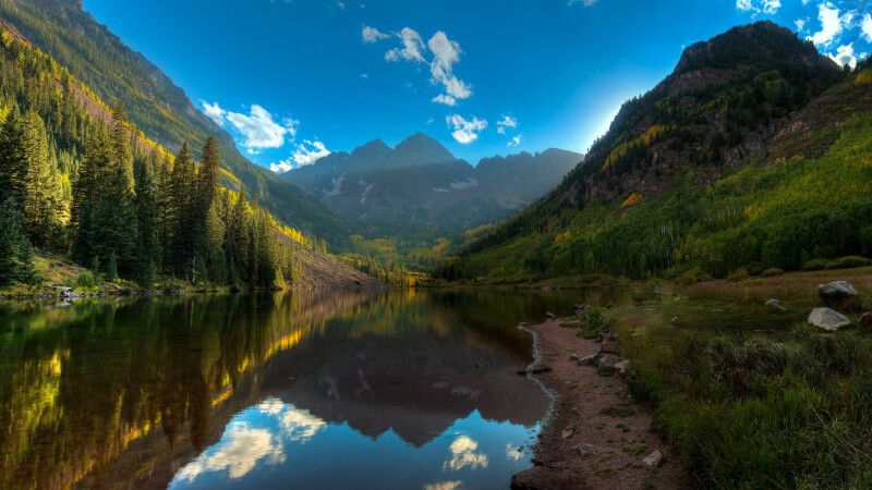 Maroon Bells, nahe Aspen, Colorado © Diamir
