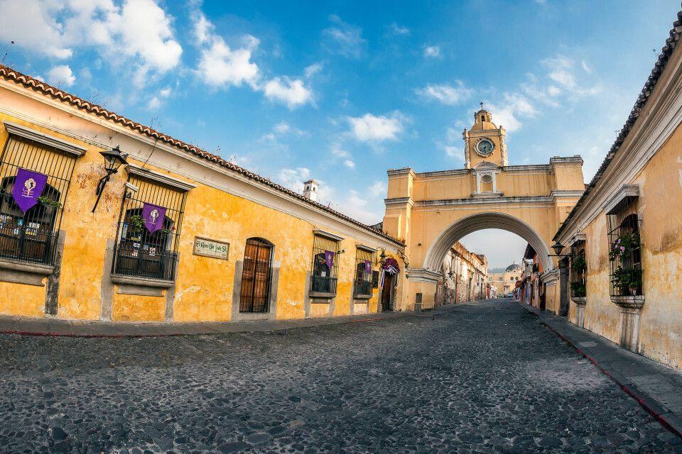 In Guatemela erwartet Sie koloniales Flair im berühmten Antigua
