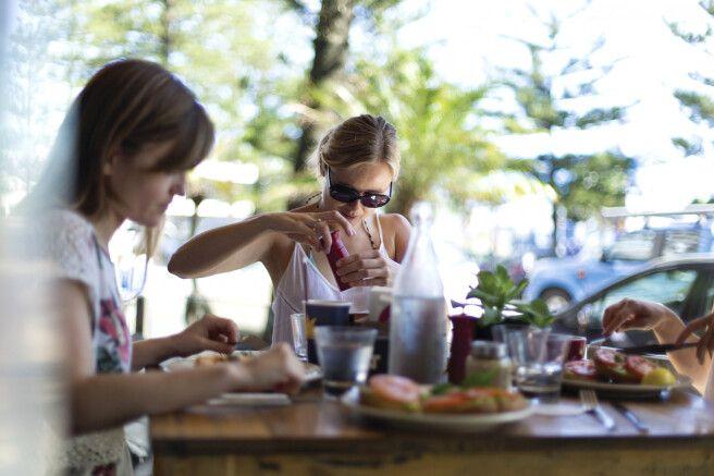 Cafe in Coolangatta, Queensland
