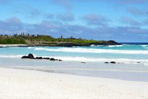 Strand auf Galapagos