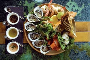Australische Meeresfrüchte