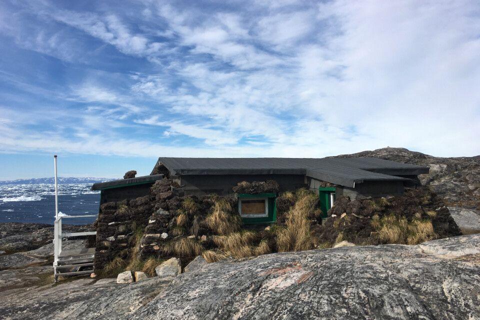 Kleines Torfgehöft in Sermermiut