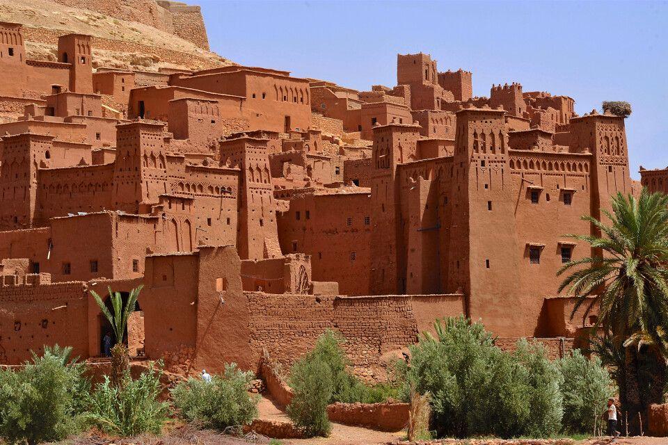 Ait Benhaddou, südlich des Hohen Atlas gelegene Oase