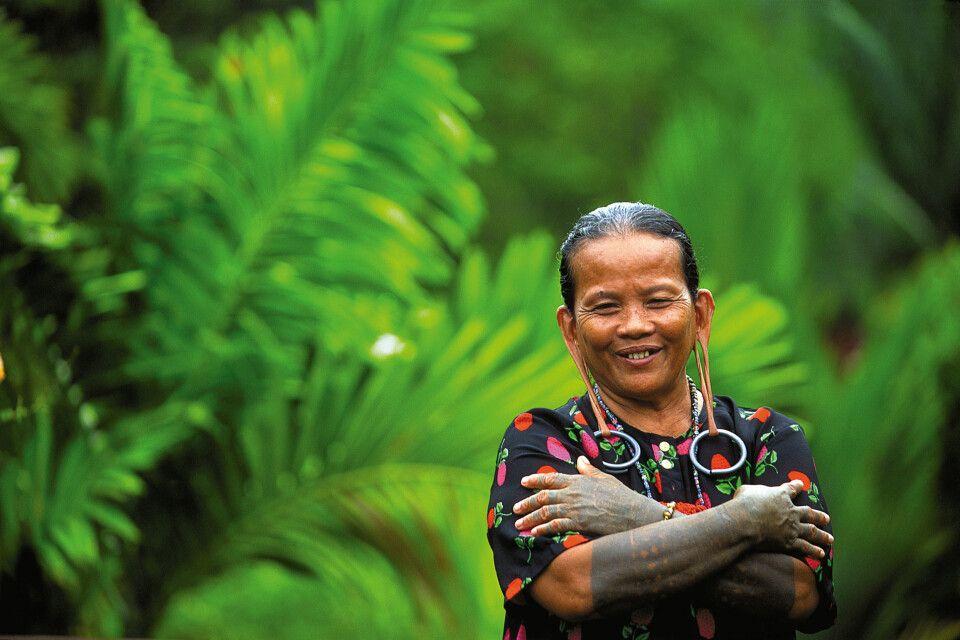 Orang Ulu in Sarawak