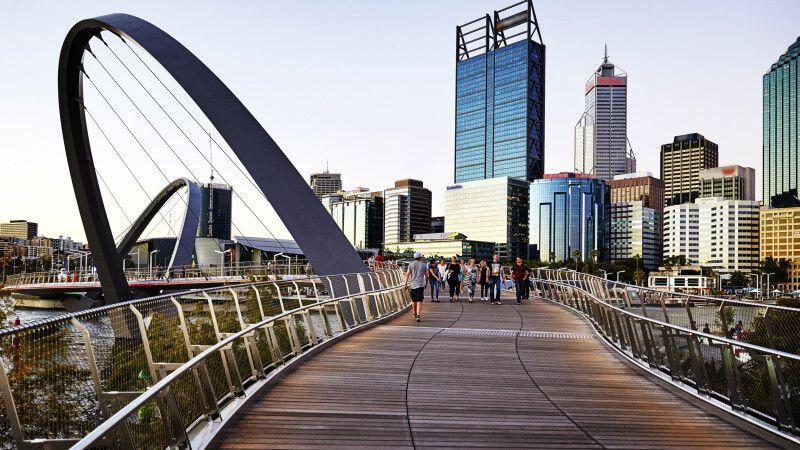 Elizabeth Quay in Perth © Diamir