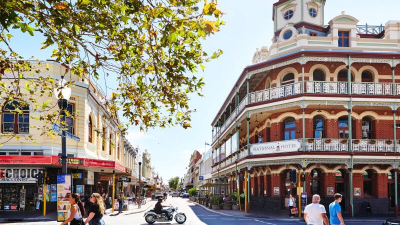 Fremantle Downtown © Diamir
