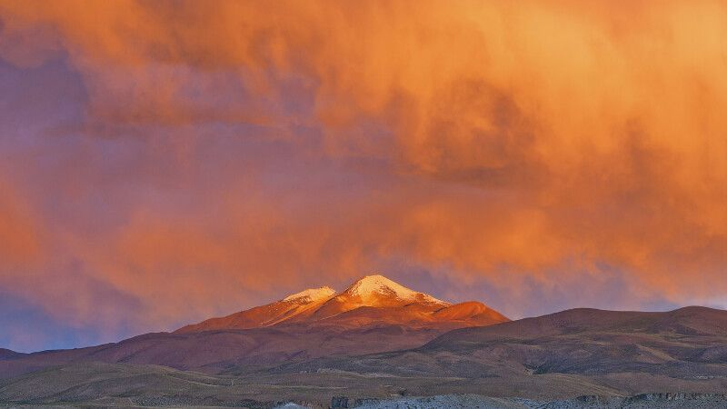 Vulkan Uturuncu (6008m) © Diamir