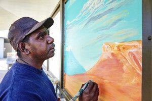Künstler des Outbacks