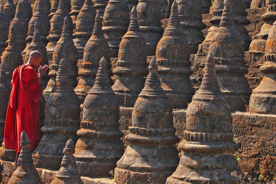 Die Tempel von Mrauk U
