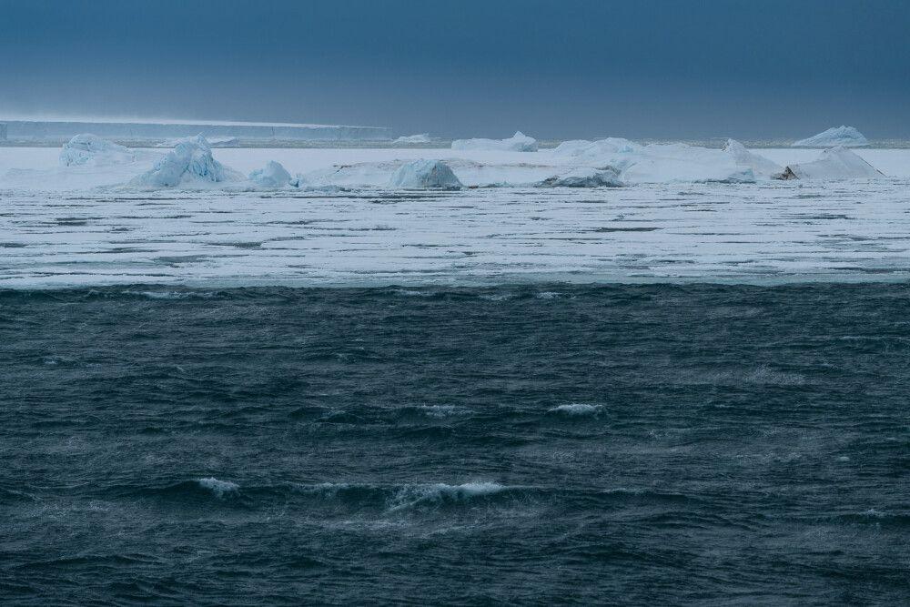 Fotospielereien im Eis