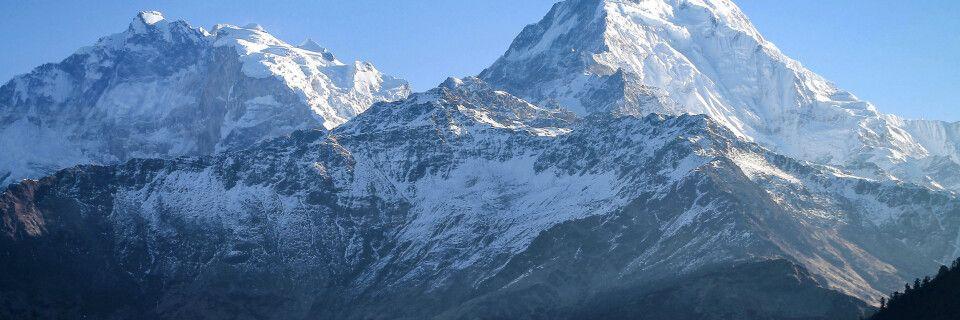 Im Angesicht von Annapurna-Süd (7219 m)