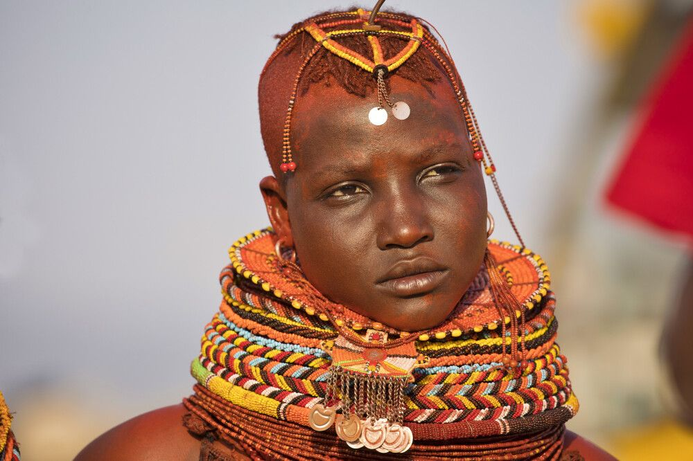 Turkana-Frau