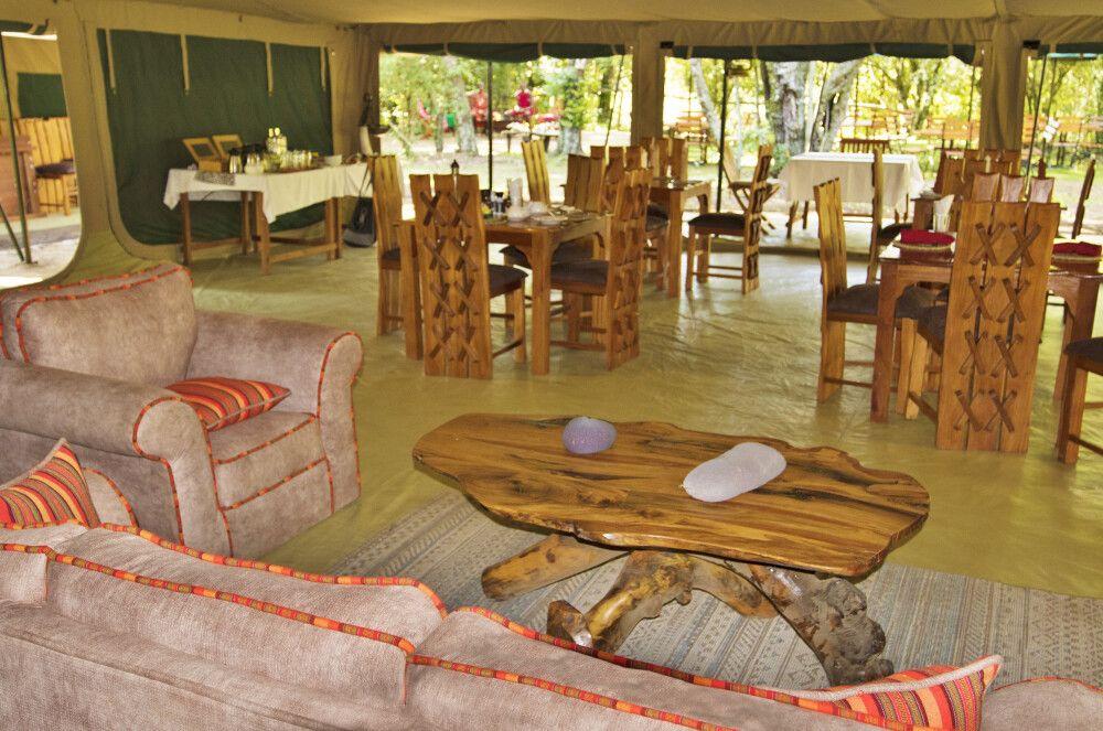 Mara Legends Camp, Gemeinschaftszelt