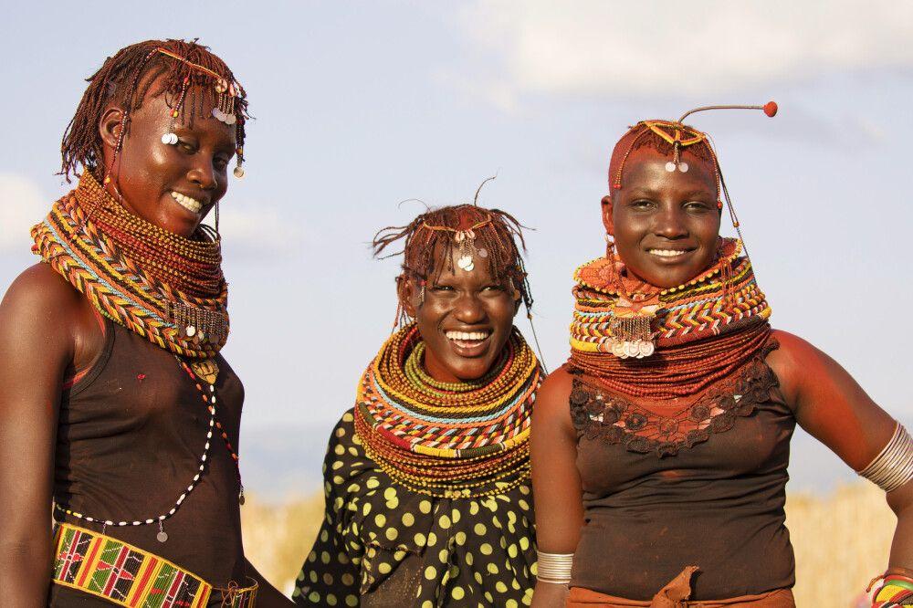 Turkana-Frauen