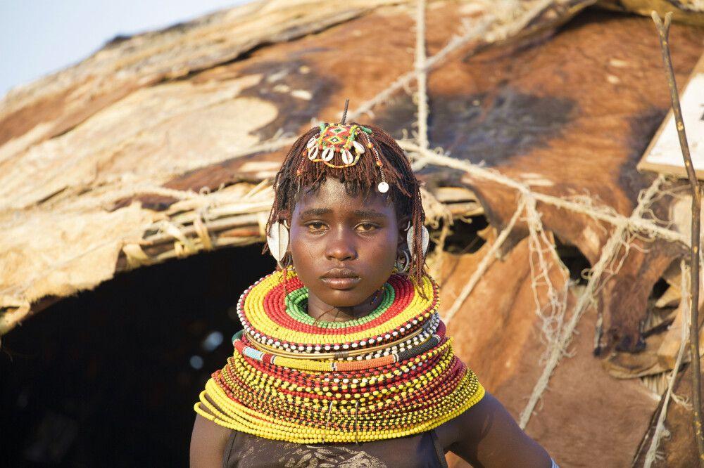 Turkana-Mädchen