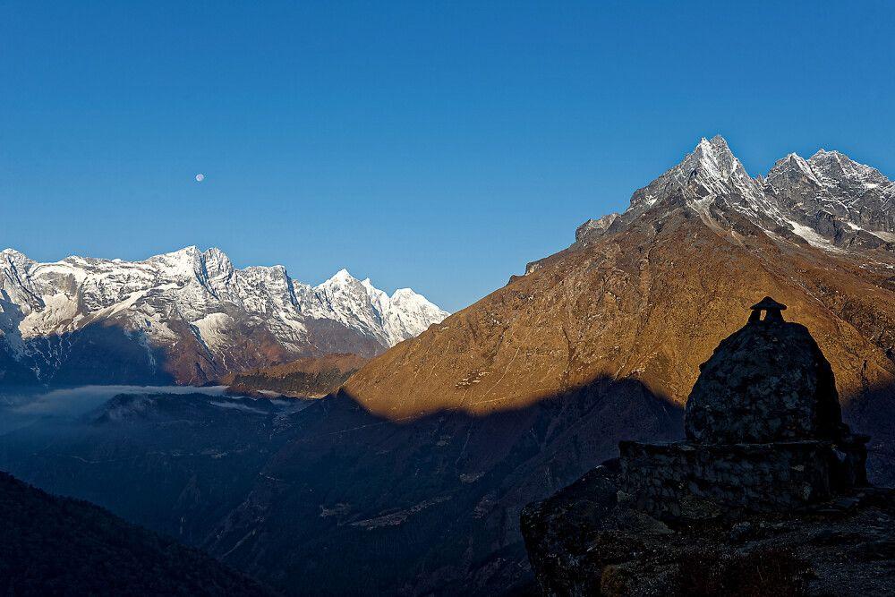 Morgenstimmung im Solu Khumbu