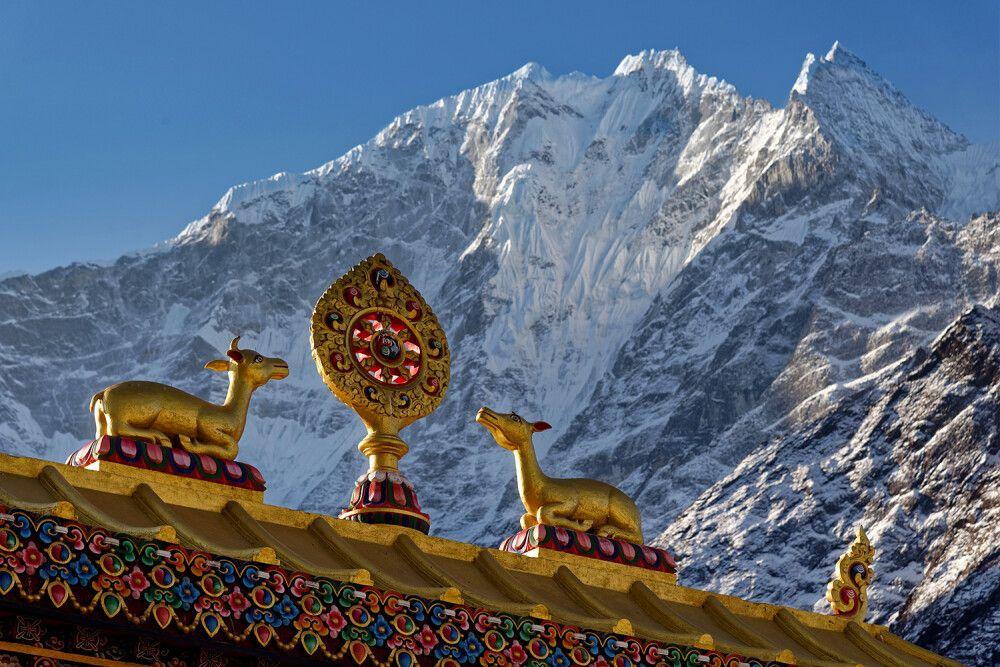 """Das """"Rad des Lebens"""" im Buddhismus"""