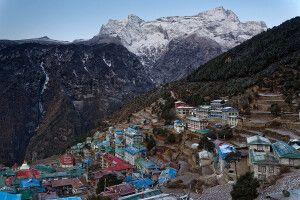 Sherpa-Hauptstadt Namche Bazar
