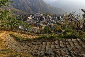 Im beschaulichen Ghandruk, dem wohl schönsten Dorf Nepals