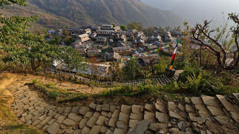 Im beschaulichen Ghandruk, dem wohl schönsten Dorf Nepals © Diamir