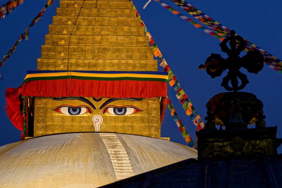 Stupa Boudhanath in Kathmandu