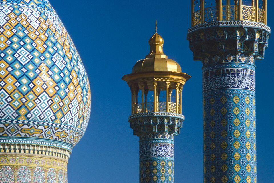 Moschee und Minarett
