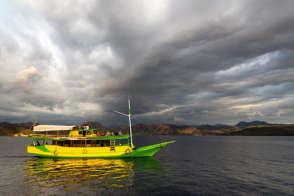 Schiffsreise im Komodo Nationalpark