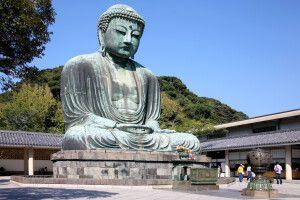 Daibutusu - der große Buddha von Kamakura