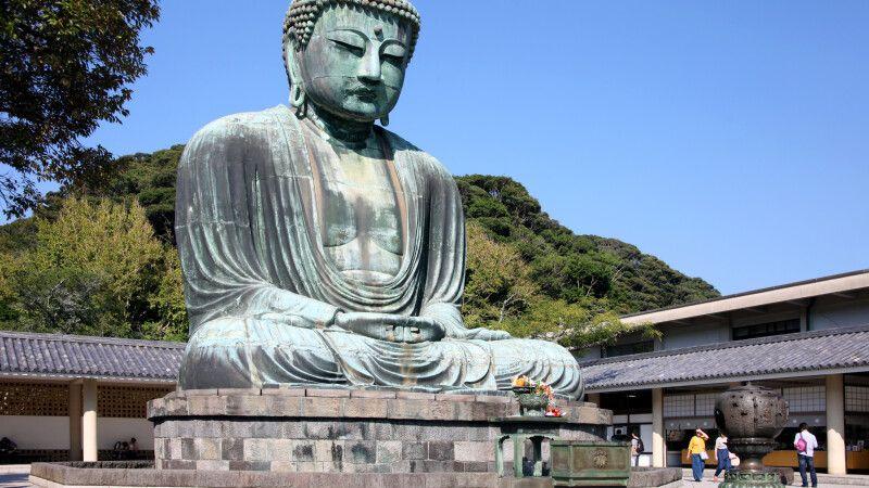 Daibutusu – der große Buddha von Kamakura © Diamir