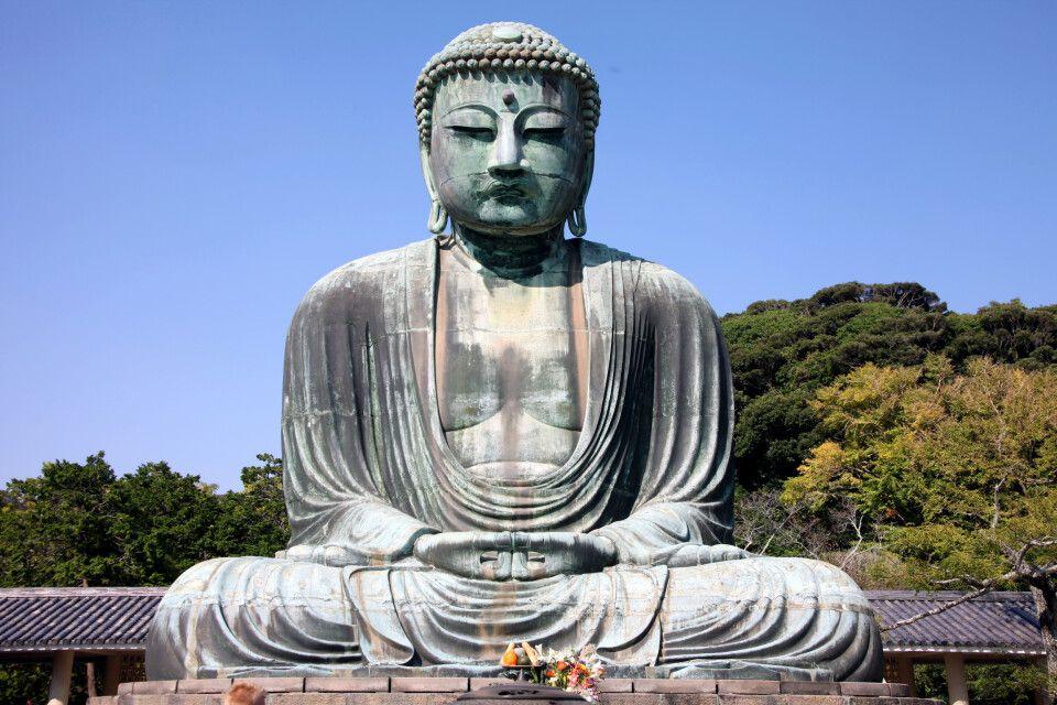 Daibutusu – der große Buddha von Kamakura
