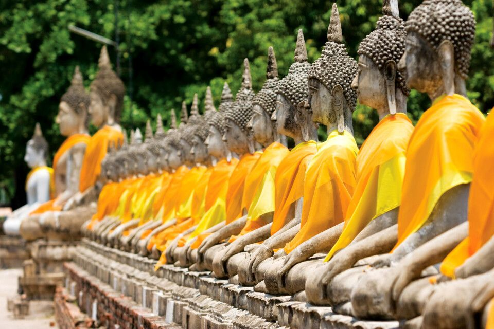 Yai Chai Mongkhon Tempel in Ayutthaya