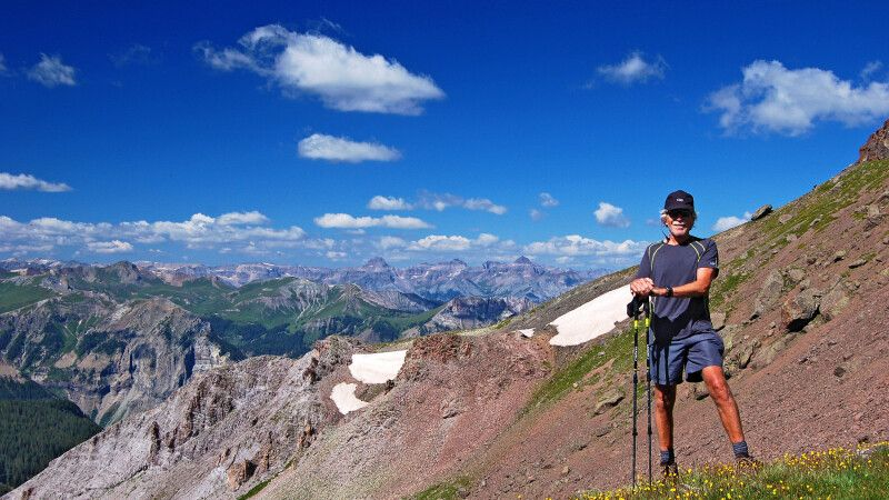 Wanderer, San Juan Mountains, Colorado © Diamir