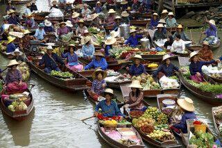 Tha Kha Floating Market  Samut Songkhram