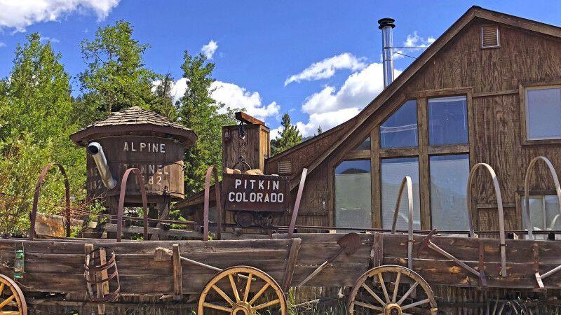 Pitkin Ghost Town, Colorado © Diamir
