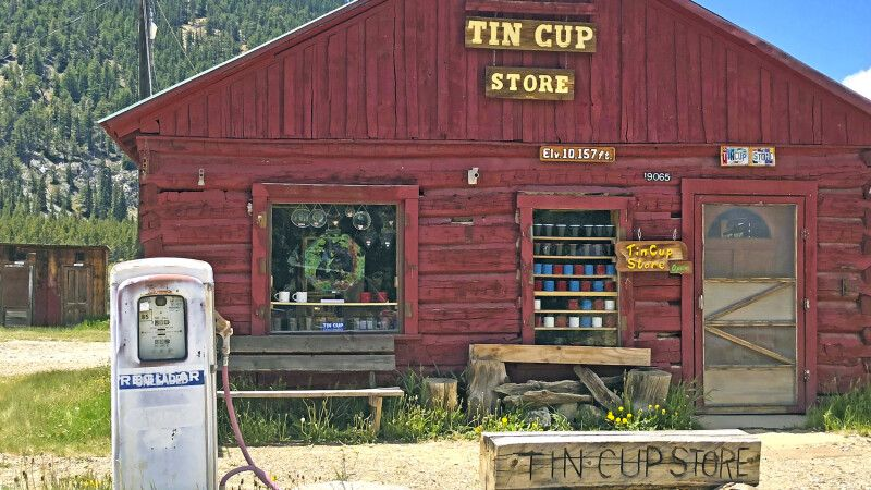 Tin Cup Store, Tincup Ghost Town, Colorado © Diamir