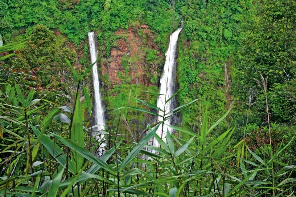 Wasserfälle im Süden von Laos