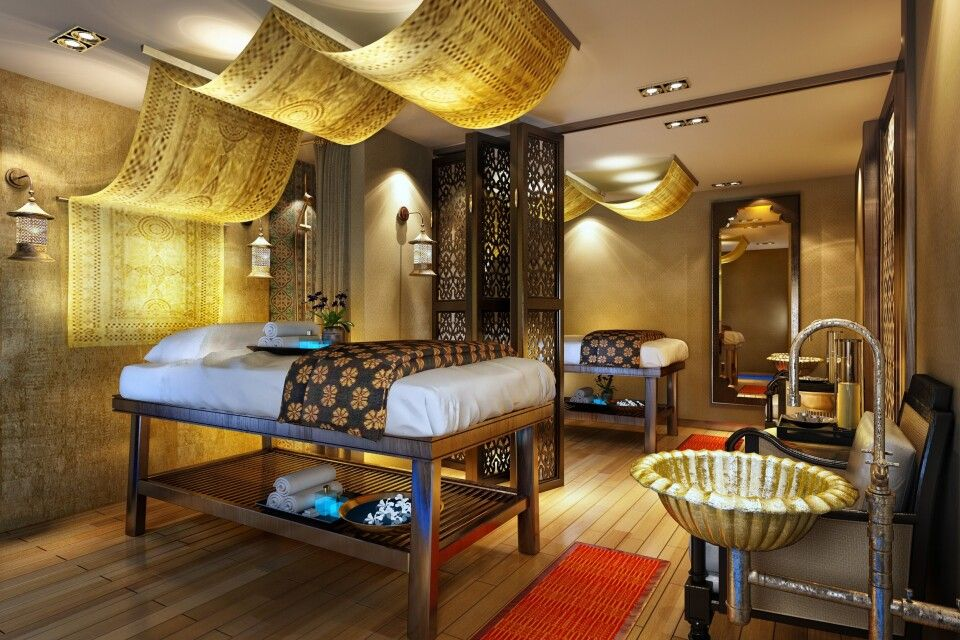 "Spa der Sanctuary Retreats ""Ananda"""