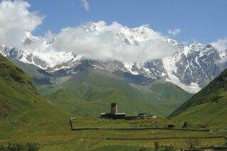 Kleine Kapelle vor dem Schchara (5200m)