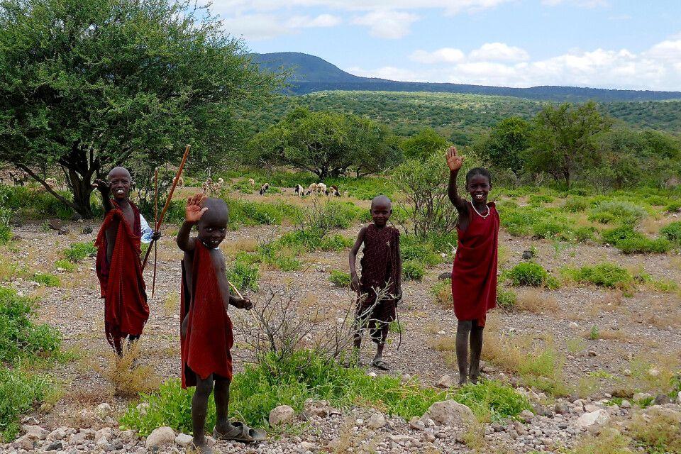 Massai im westlichen Kilimanjaro-Gebiet