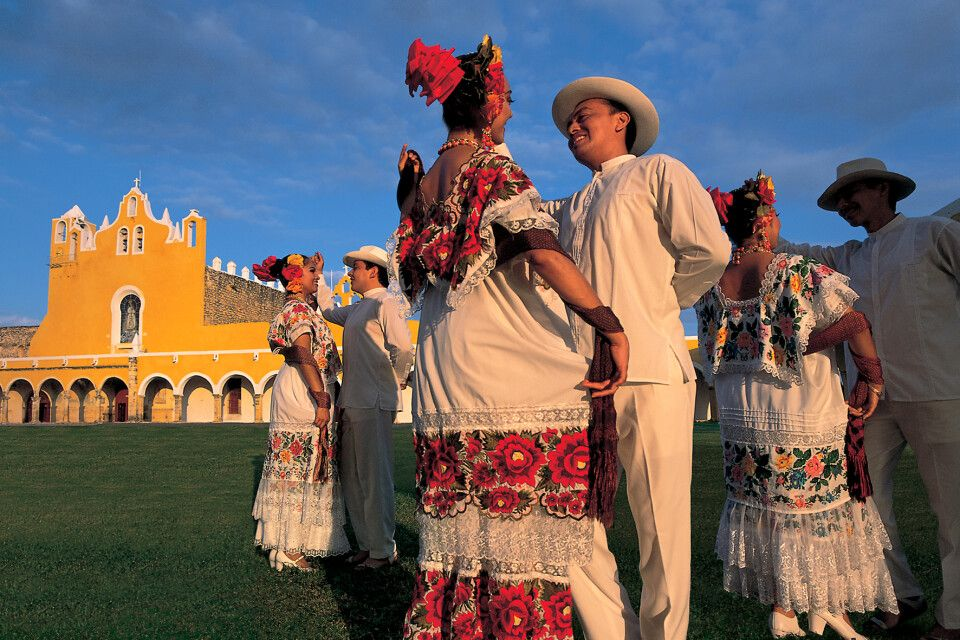 Gelebte Tradition in Izamal