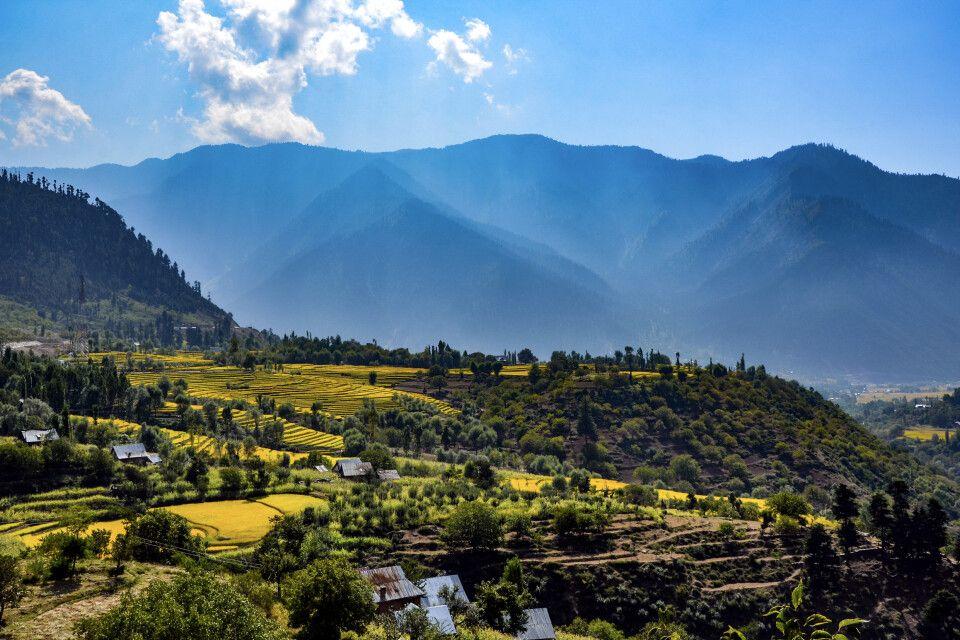 Auf dem Weg nach Naranag, Kaschmir