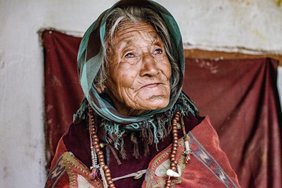 Ladakhi Frau