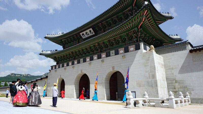 Gyeongbokgung Palast in Seoul © Diamir