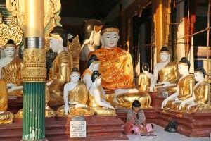 Schwedagon-Pagode in Yangon