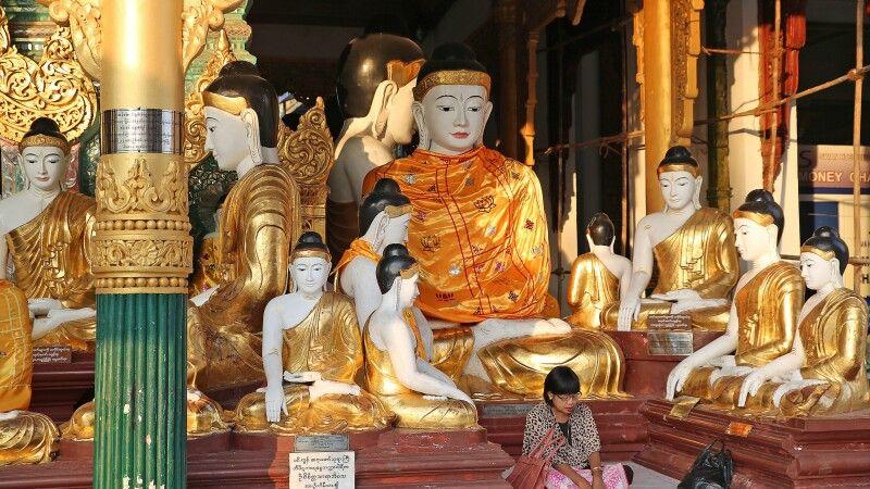 Schwedagon-Pagode in Yangon © Diamir