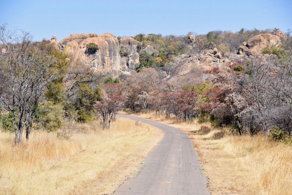 Piste bei Matobo Hills